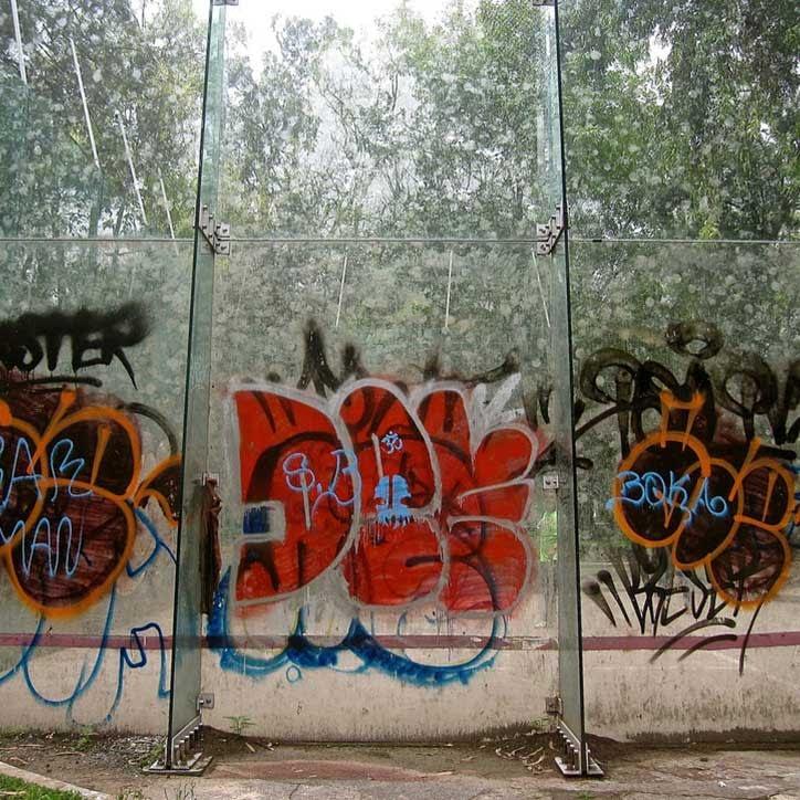 film som hindrer grafitti
